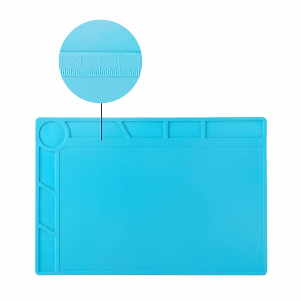 Magnetic Heat Insulation Silicone Pad for BGA Soldering Repair Station