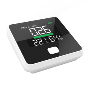 PM2.5 Air Quality Monitor Digital Gas Analyzer Laser Duty Sensor Air Detector Home LED Display Temp And Humidity Test Equipment
