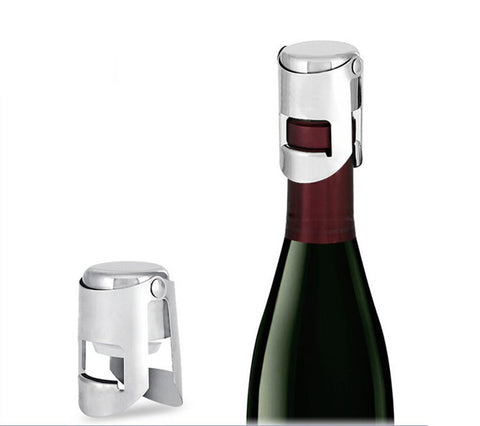 Stainless Steel Vacuum Wine Sealer Bottle Stopper