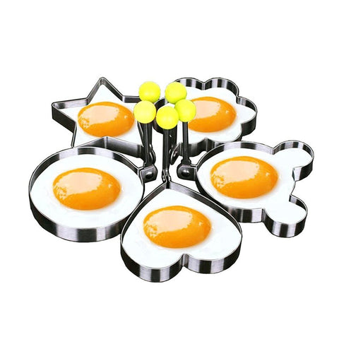 Stainless steel Cute Shaped Fried Egg Mold