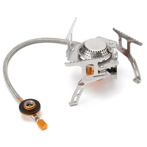 IPRee™ Camping Picnic Gas Stove Burner Portable Mini Windproof Butane Cooker 3500W
