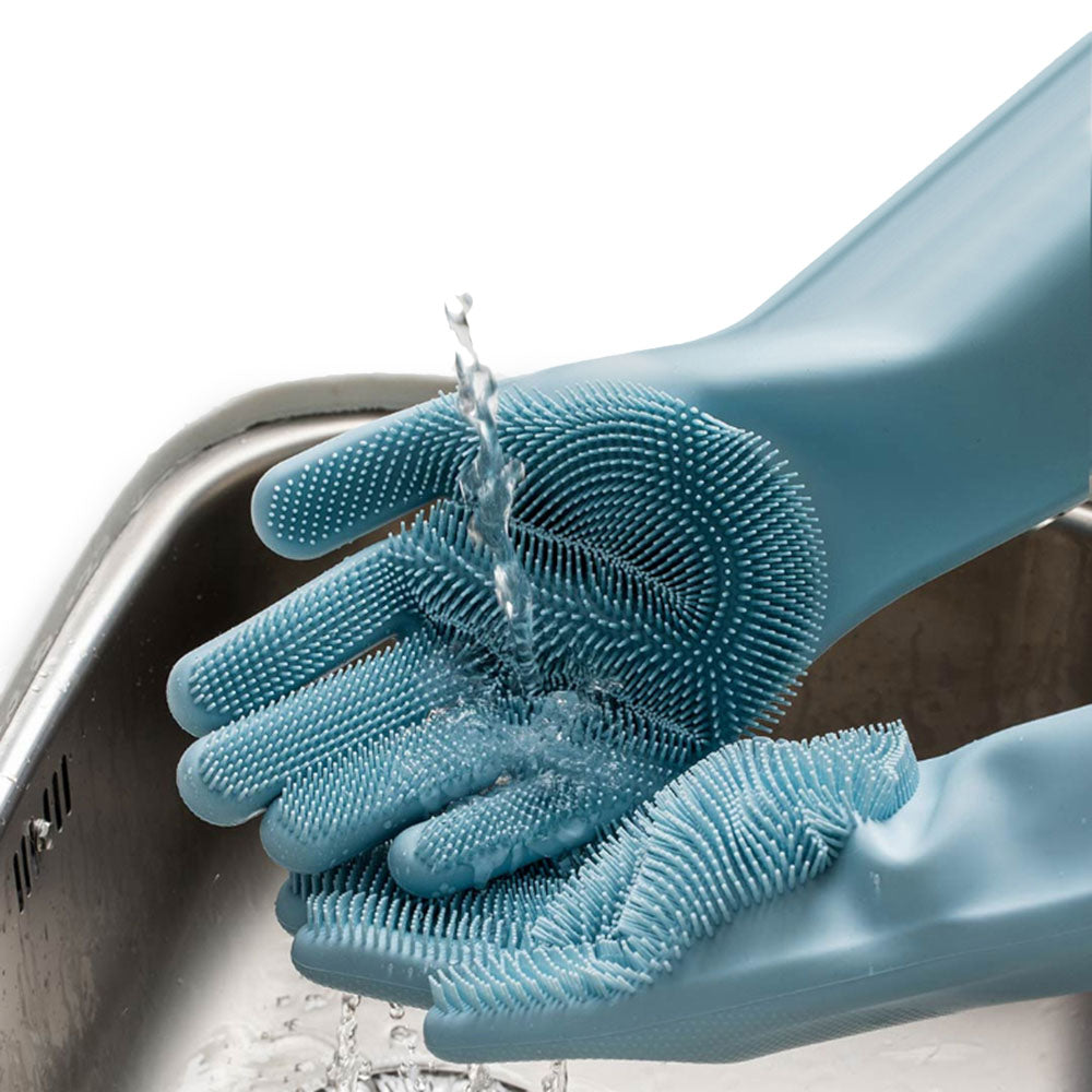 XIAOMI 1 Pair Magic Silicone Cleaning Gloves