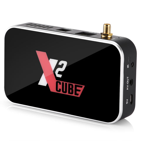 Ugoos X2 Cube Amlogic S905X2 2GB DDR4 RAM 16GB ROM Android 9.0 4K USB3.0 TV Box