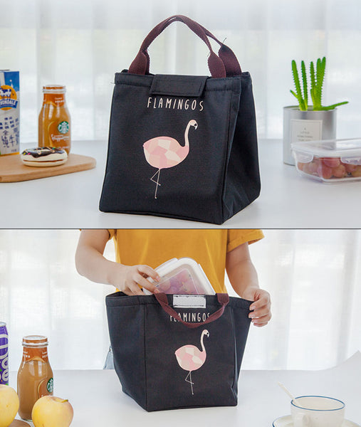 Fashion Portable Insulated Oxford lunch Bag
