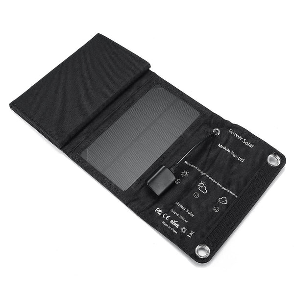 10W 5V Solar Panel Folding Portable Power Charger For Cell Phone Charger/Camping