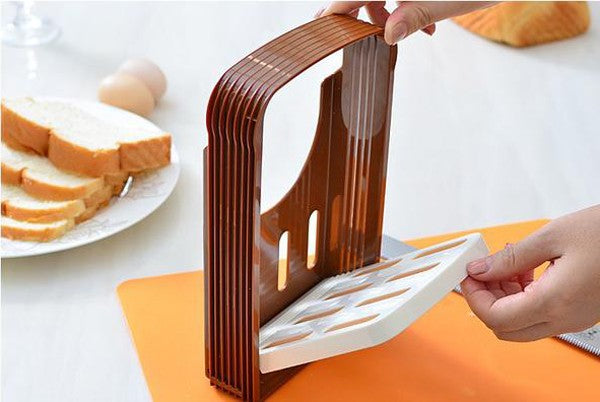 Bread Cut Loaf Toast Slicer Cutter