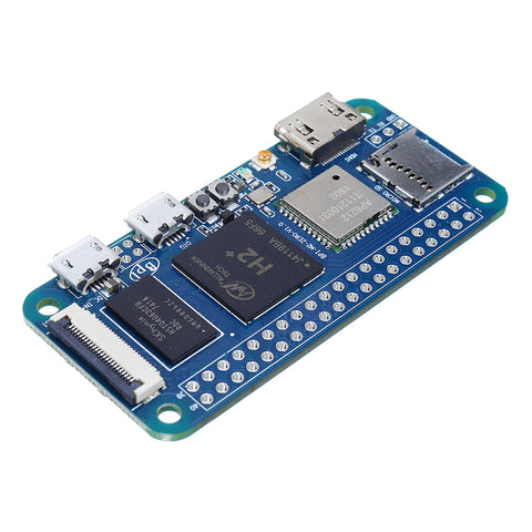 Banana Pi BPI-M2 Zero H2+ Quad-core Cortex-A7 512MB DDR3 WiFi & bluetooth Onboard Single Board Computer Development Board Mini PC Learning Board