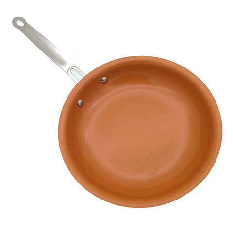 8/10/12 Inch Non Stick Copper Frying Pan Universal