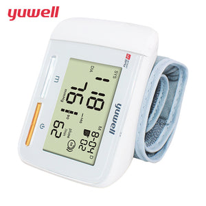 Yuwell YE8900A Wrist Blood Pressure Monitor Portable Large Digital LCD Medical Equipment Measurement CE Household Health Care Tool