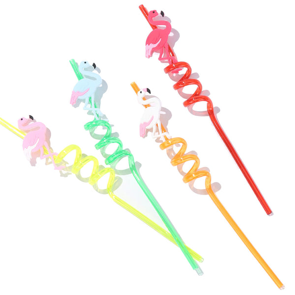 Creative Flamingo Kitchen Drinking Straw
