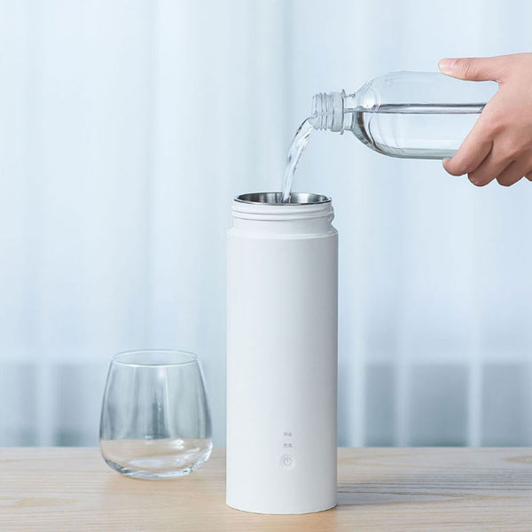 VIOMI YM-K0401 400ML/300W Portable Electric Heating Bottle For Travel Stainless Steel Water Bottle Intelligent Temperature Control From Xiaomi Youpin