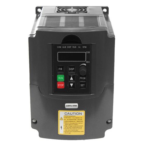 1500W 220V Inverter Converter Auto Voltage Regulation Technique for Spindle Motor