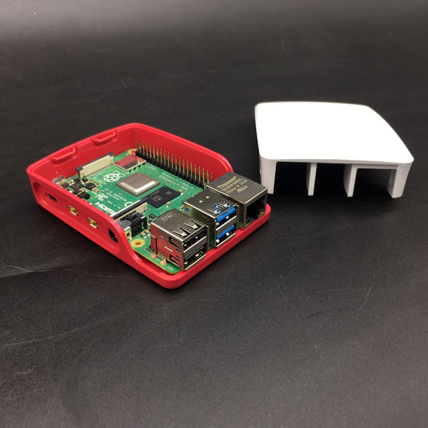 Raspberry Pi official Case ABS Two-part Protective Enclosure for Raspberry Pi 4