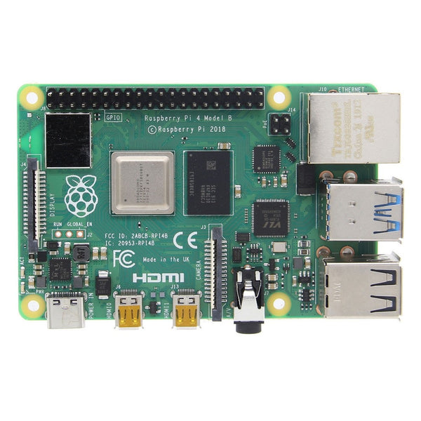 Raspberry Pi 4 Model B 2GB/4GB Mother Board Mainboard With Broadcom BCM2711 Quad-core Cortex-A72 (ARM v8) 64-bit SoC @ 1.5GHz - 2GB