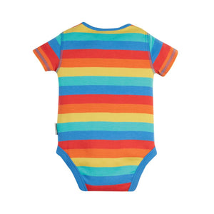Rainbow Stripe Short Sleeve Body