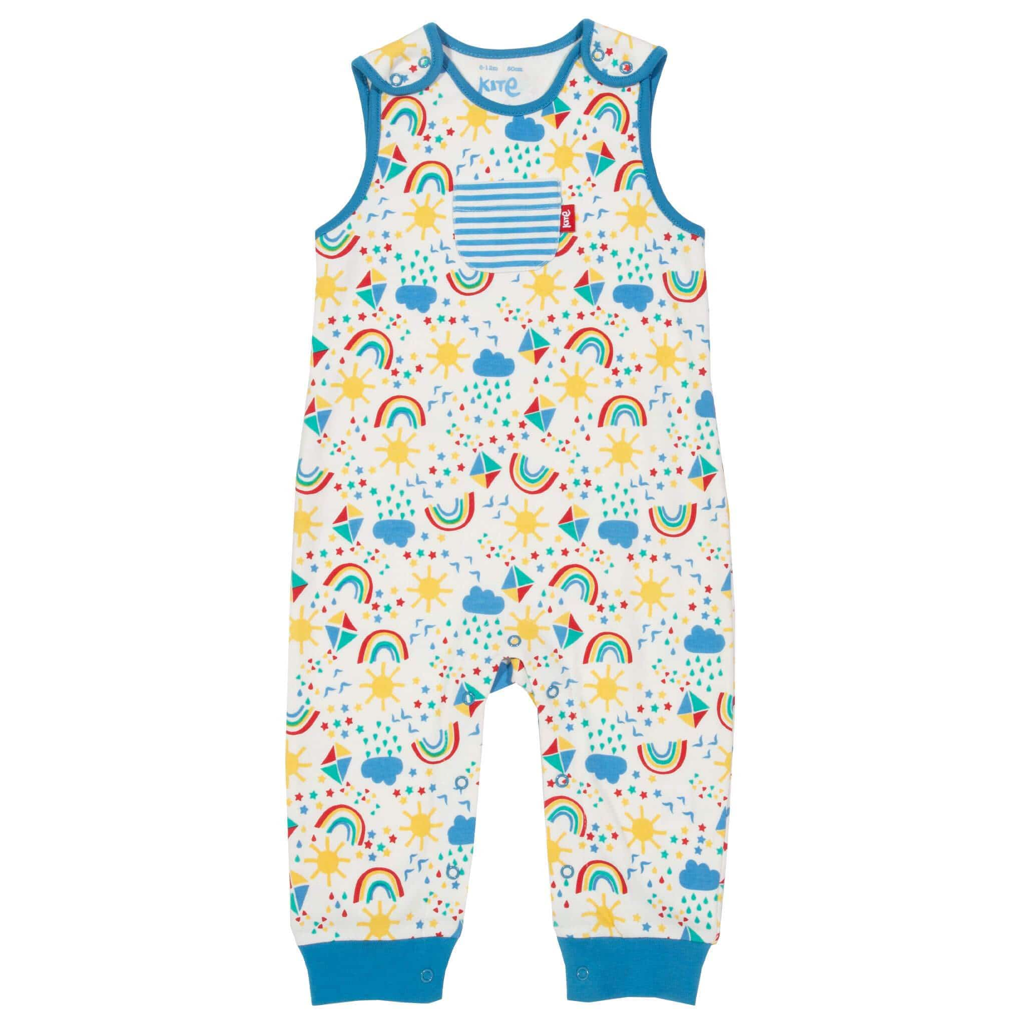 Organic Kite Clothing Sky High Dungarees