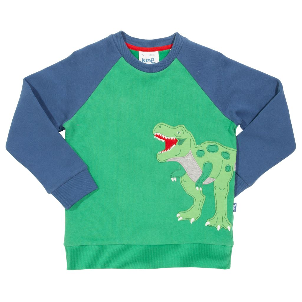 Organic Kite Clothing T Rex Sweatshirt