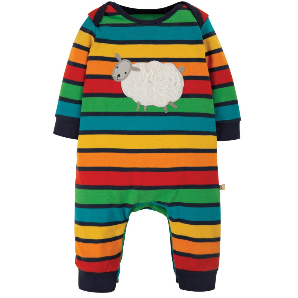 Bumble Bee Rainbow Stripe Charlie Romper