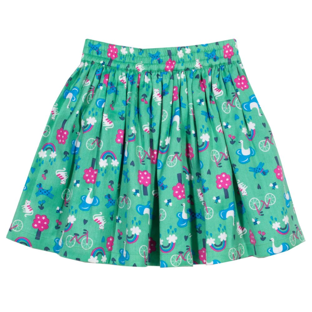 Organic Kite Clothing Reversible Park Life Skirt