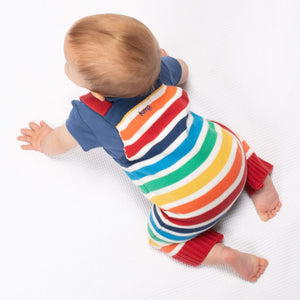Organic Kite Clothing Rainbow Knit Dungarees