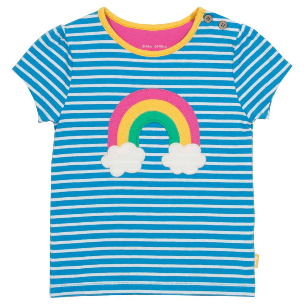 Organic Kite Clothing Rainbow T-Shirt