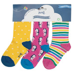 Organic Kite Clothing Seahorse Socks With Packaging