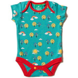 Organic Little Green Radicals Beyond The Rainbow Baby Body Set