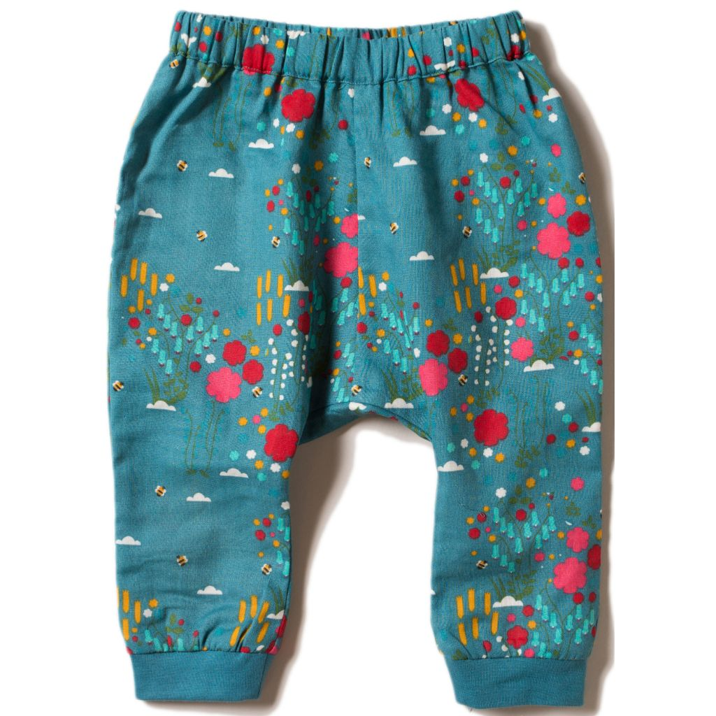 Organic Little Green Radicals Wildflower Meadow Jelly Bean Joggers