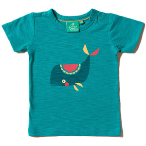Organic Little Green Radicals Whale Of A Time T-Shirt