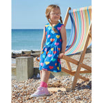 Organic Toby Tiger Multi Heart Print Dress