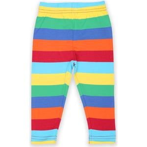 Organic Toby Tiger Multi Stripe Leggings