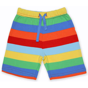 Organic Toby Tiger Multi Stripe Shorts