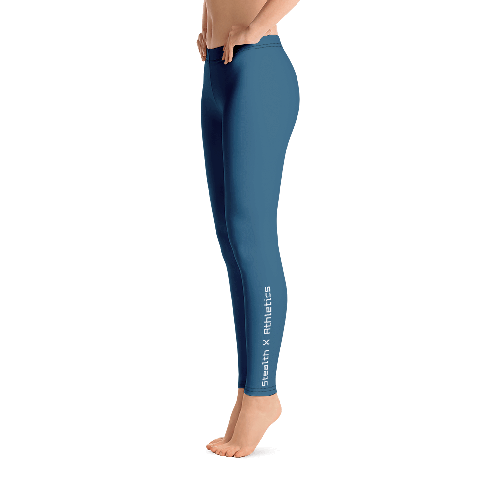 Infinity Blue Performance Leggings