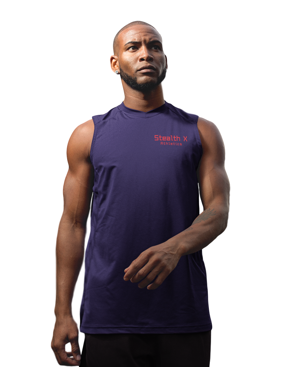 Navy Performance Tank