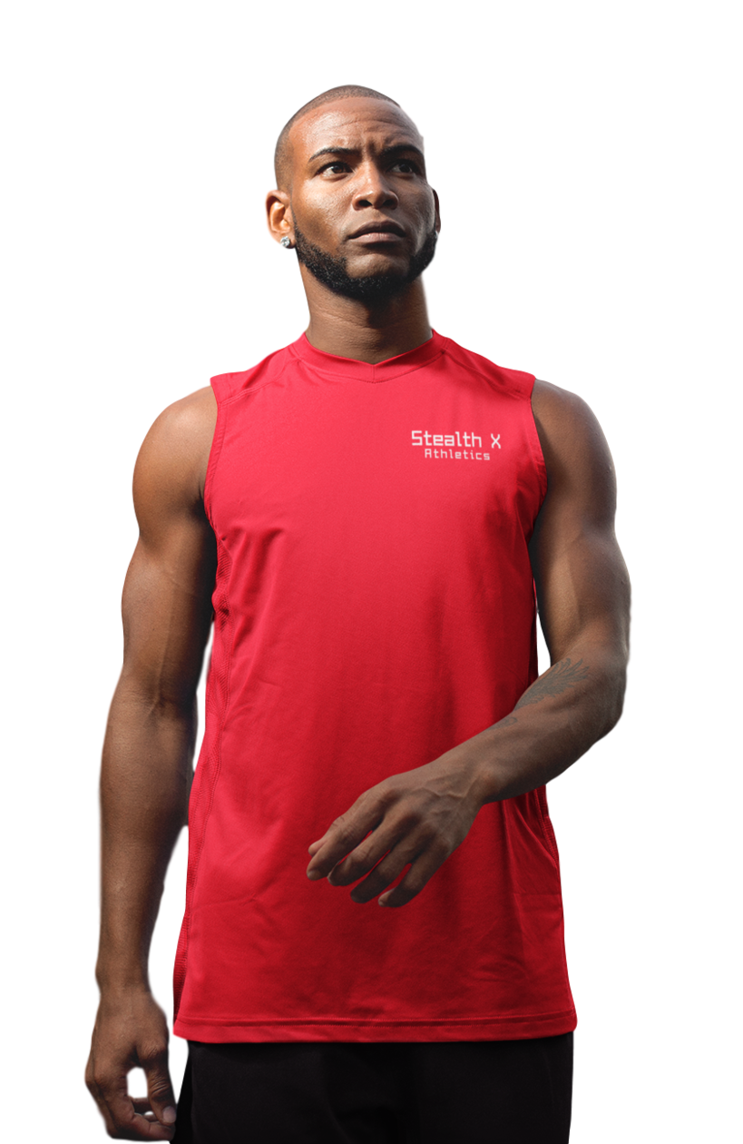 Red Performance Tank