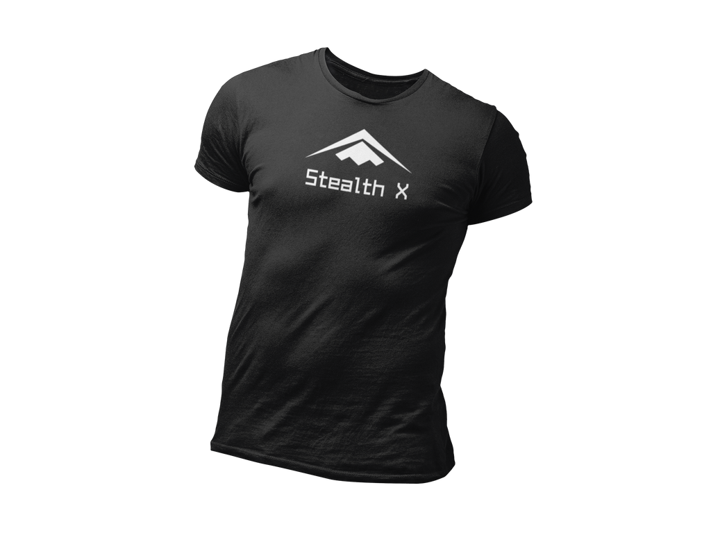 Black Stealth Everyday Tee