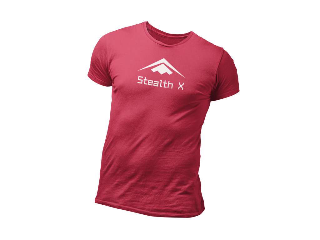Red Stealth Everyday Tee