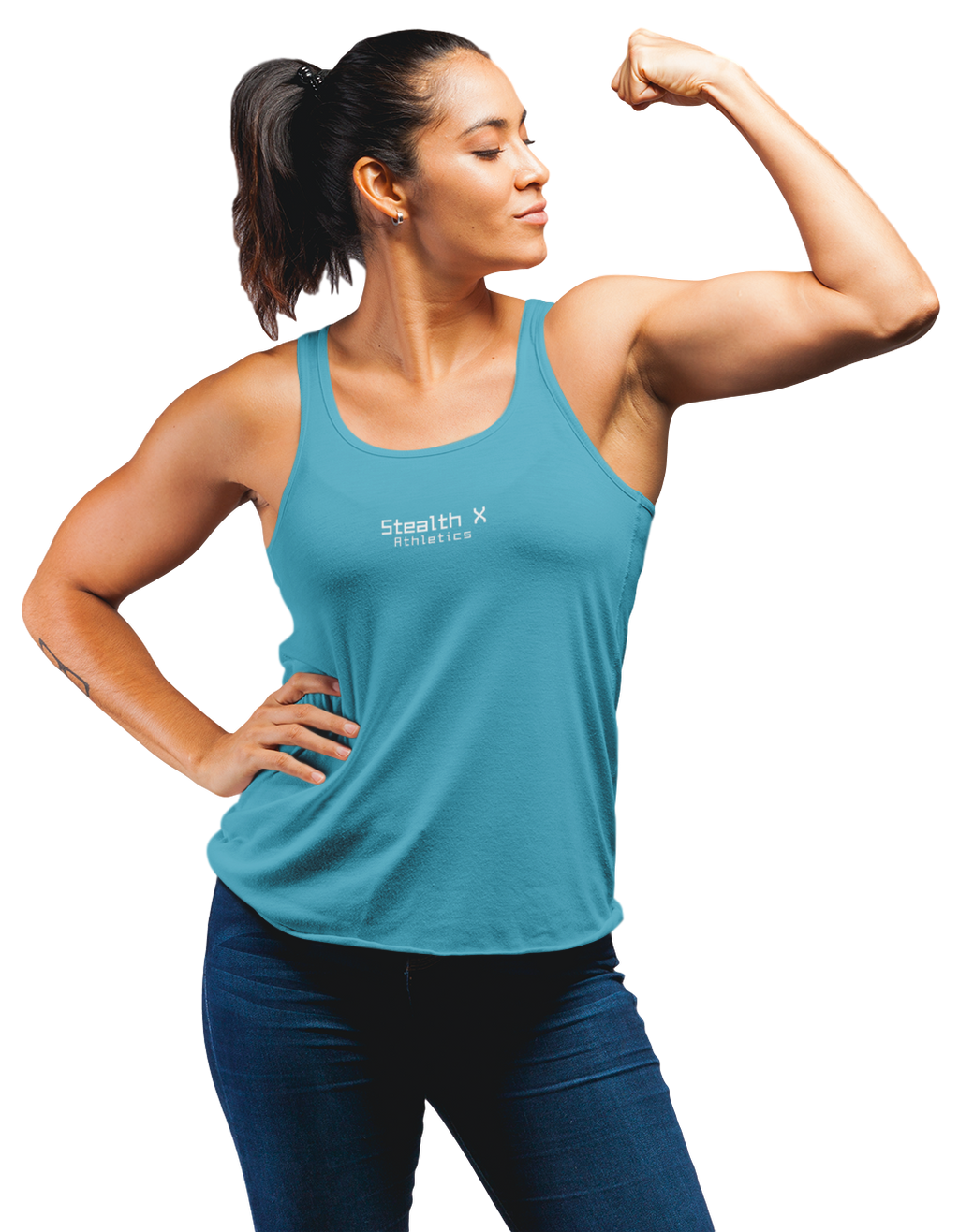 Aqua Blue Performance Tank