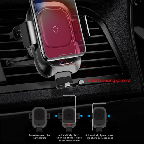 Intelligent Wireless Phone Charger for Cars