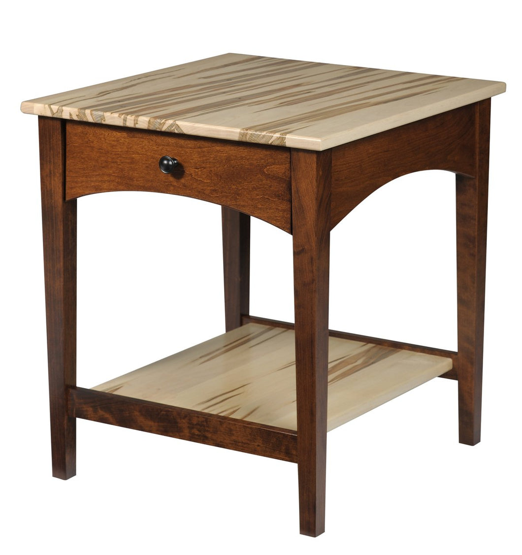 Modern Shaker End Table