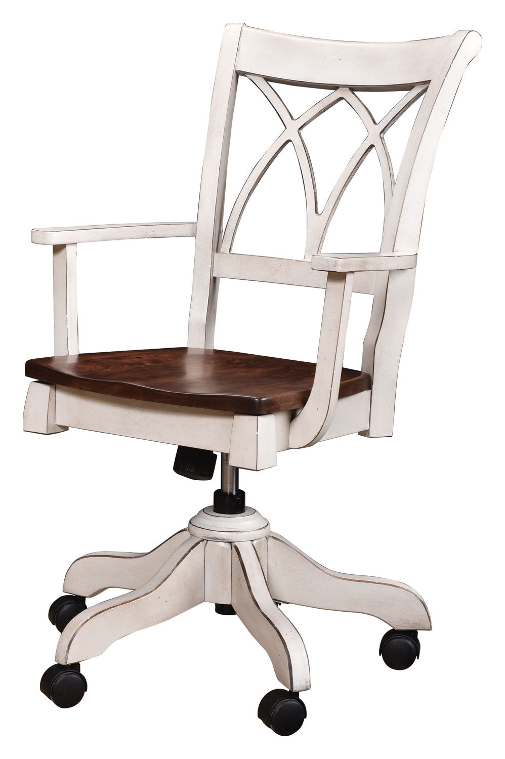 Double X Back  Desk Chair