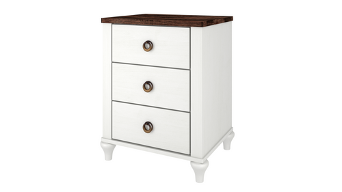 Alcan 3-Drawer Night Stand