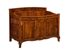 French Country Crib w/ Panel Footboard