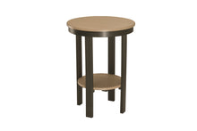 Round End Table Counter Height