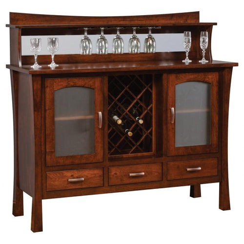 Woodbury Buffet w/Wine Rack