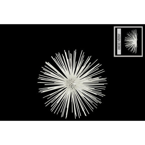 Magical Sea Urchin Medium Wall Decor - White