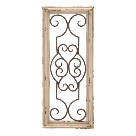 Wood Metal Wall Panel Wall Decor