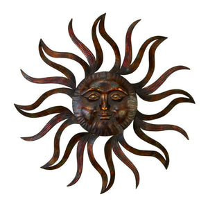 Metal Sun Wall Decor Feel Every Morning More Fresh