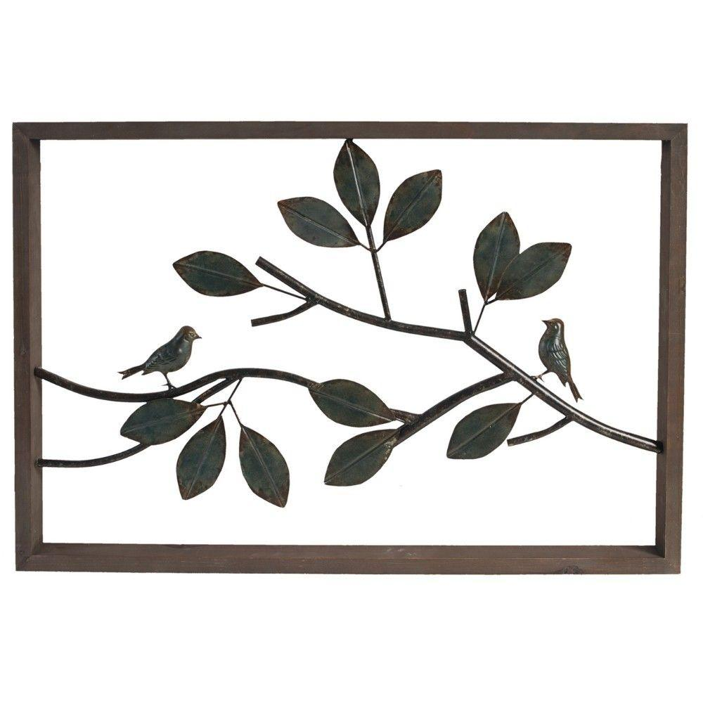 Metal Wall Decor, Black