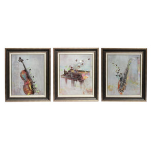 Musical Classic Wall Decor-Set of 3